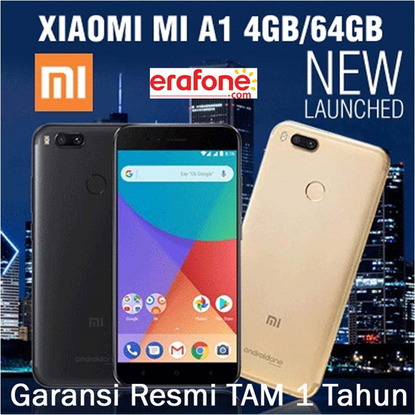 Xiaomi Mi A1 4GB/64GB Deals for only Rp3.150.000 instead of Rp3.150.000