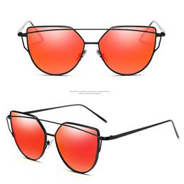 1b80a57fa NEW Fashion Sunglasses Women Brand Designer Metal Frame Sun glasses Vintage  Mirror Shades Glasses