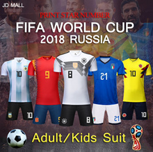 [JD]★ FIFA World Cup 2018 SOCCER JERSEY/SUIT/ADULT/KIDS★ DIY PRINTING ★ Fast Delivery