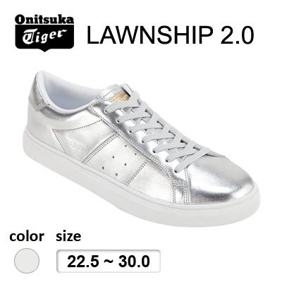 reputable site e5c70 7148d Onitsuka Tiger(Japan Release) LAWNSHIP 2.0 Silver /Only Available in  Japan/Sneakers/Shoes/