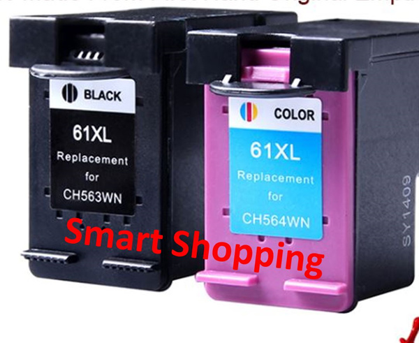 INK 61 XL Black 61XL Color for HP Printers Remanufactured Compatible Highest quality cartridges inks Deals for only S$60 instead of S$0