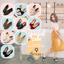 [Free Gift!!] Gracegift-Classic Flats/Loafers/Oxfords/Women/Ladies/Girls Shoes/Taiwan Fashion