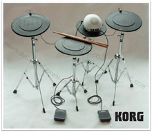 KORG CLIPHIT Drum Set | Emulator | Simulator | Beginner | Advance | Electronic | Clip on to Anything