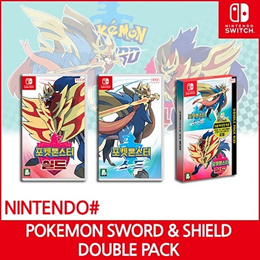Nintendo Switch Pokemon Sword And Shield Standard and Double Pack