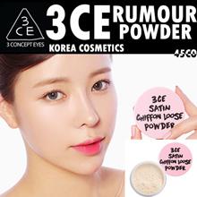 [Korean cosmetics / Korean cosmetics / Korean fashion / STYLENANDA] 3CE PINK RUMOR SATIN CHIFFON LOOSE POWDER