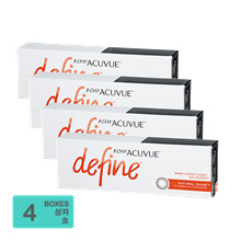 [Free Shipping] Johnson and Johnson 1-Day Acuvue Define Natural Shine (30pcs/box) x4