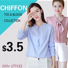 chiffon tops /blouse/ plus size/ off shoulder top/good quality