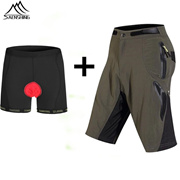 8312700a9 Mtb Mountain Bike Shorts Men Quick Dry Breathable Bicycle Cycling Shorts  With Underwear Size M-