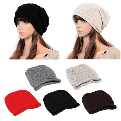 202799fc5f0 Unisex Women Men Winter Warm Ski Knitted Crochet Baggy Beanie Hat Cap New