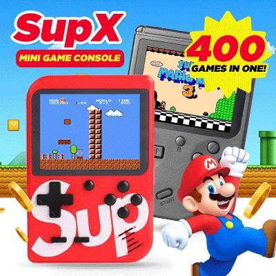 [china]SUP X 400 Games Brand Retro Mini PLUS *168 Gameboy Game Console  Emulator Built-In