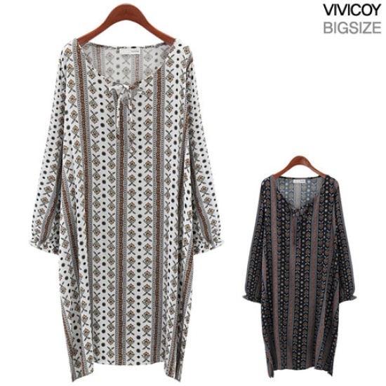 ビビ己斐モナコワンピースNIR 綿ワンピース/ 韓国ファッション