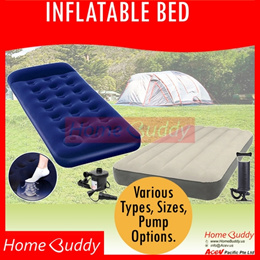 BED_ Inflatable Bed + BUILT-IN Pump + BUILT-IN Head Rest $25.9 ■ Inflatable SOFA ■ _ READY Stocks SG