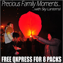 SKY Lantern Wish Lantern 孔明灯 许愿灯 CNY Mid Autumn Festival Birthday Wedding BBQ