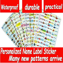 (Buy one get one free cartoon sticker))Sewing Labels/Waterproof name sticker/New design Arrival