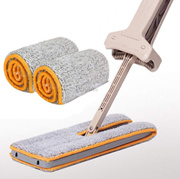 Microfiber Mop Cloth for Lazy Double Sided Flat Mop (2pcs1set)