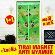[1+1] Aneka Tirai Magnet bermotif (  magnetic curtain ) Bisa Pilih Motif yang Kedua Random