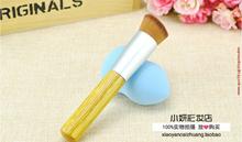 Innisfree oblique head brush bb cream foundation brush Makeup brush hypotenuse flat shadow brush mak