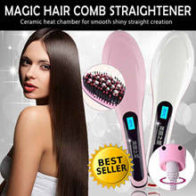 ◣LOCAL WARRANTY◥ *Magic Hair Comb Straightener * Simply Straight * Straightening Brush * 美丽之星 直发器神器