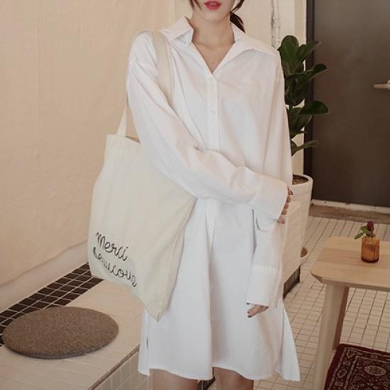 ミミ・アンド・ディディslim basic ops5033 シフォン/レースのワンピース/ 韓国ファッション