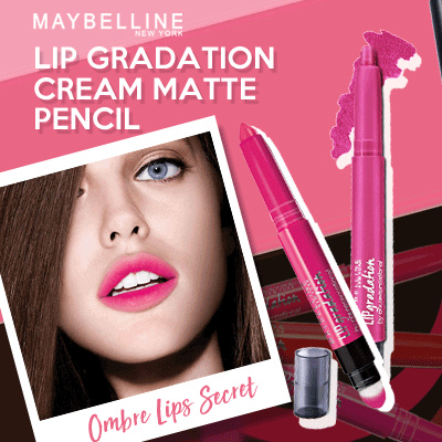 Maybelline Lip Gradation Matte Ombre Deals for only Rp105.000 instead of Rp105.000