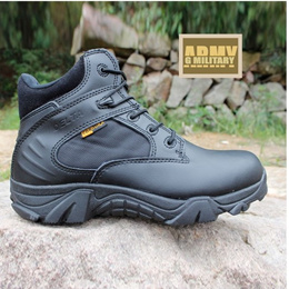 LOW CUT Delta Boots/Police Boots/Army Boots/Outdoor/Zipper/ hiking Boots/Custom/Officer/Boots/ Army