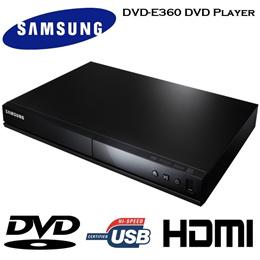 SAMSUNG DVD-E360 DVD Player GARANSI 1 TAHUN