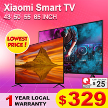 【Local Warranty】★【Xiaomi TV】43 50 55 65 INCH XIAOMI SMART TV | Android TV