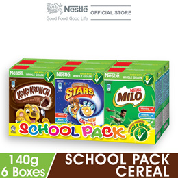 NESTLE School Pack Cereal 6 Boxes 140g Each (Exp. Date: Aug 19)