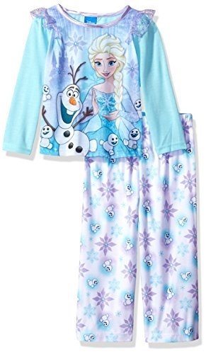 52b1eb83e6f9 Qoo10 - Disney Toddler Girls Frozen 2-Piece Pajama Set