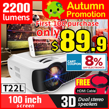 Best Seller!!NEW!!🌟T22L  🌟 T23K  PROJECTOR UC46+ 🌟 The Cheapest 1080P Portable.films