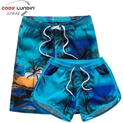 24280795ee9c4 Couple Swimwear Board Shorts Women & Mens Boardshorts Bermuda Beach Shorts  Trunks Beach Suit Qui