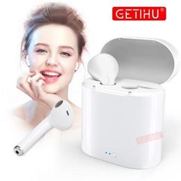 Mini Bluetooth Earphone Headphones For Apple iPhone X XS Max 8 Wireless Headphone Earphones Headset