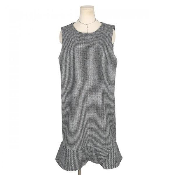 ネオクビカビックサイズ、袖なしのチェックワンピースDD190 new ミニワンピース/ワンピース/韓国ファッション