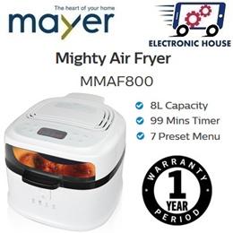 ★ Mayer MMAF800 Mighty Air Fryer ★ (1 Year Warranty)