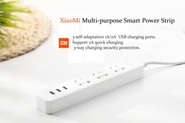 100% Original Xiaomi Mi Smart Power Strip Plug Adapter With 3 USB Port 2APromo Free Ongkir Jakarta!