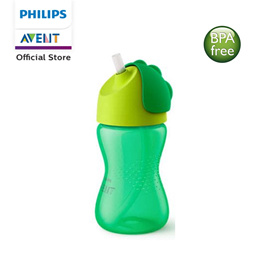 Philips Avent Bendy Straw Cup 300ml Green