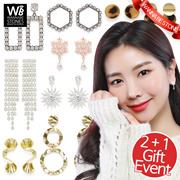 [EVENT 2+1] ♥Feb update♥ Korea Designer Brand. Fashion Earrings / Gift box