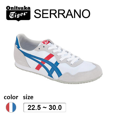 promo code 880c2 7e321 Onitsuka Tiger(Japan Release)SERRANO white-blue/Onitsuka  tiger/Sneakers/Shoes/Only Available in Japan