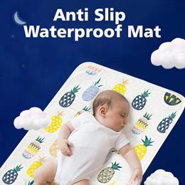 Baby Waterproof Mat/ Diaper Changing Mat/ Stroller mat/ waterproof Baby cot bedsheet protector★