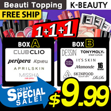SPECIAL OFFERS!!★GOOD BYE 2018 With Beauti Topping★K-Beauty★Lucky Box★3CE/APIEU/PRIPERA/CLIO/MISSHA