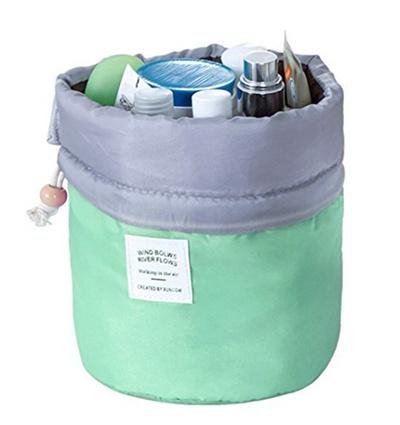 ce8d00437652 Aolvo Lazy Cosmetic Bag - Fashion Flamingo Pattern Large Capacity Magic  Makeup Bag Multifunction Por