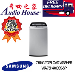 SAMSUNG WA-75H4400SS-SP 7.5 KG TOP LOAD WASHER ***2 YEAR SAMSUNG WARRANTY***