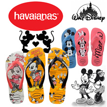 [HAVAIANAS] COUPLE FLIP-FLOPS★100% ORIGINAL★DISNEY STYLISH★MICKEY MOUSE AND MINNIE MOUSE