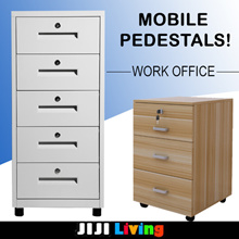 Mobile Pedestals! ★Office Furniture | Bedside Table ★Cabinet/Organizer/Storage/Bookshelf