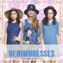 Mugigae♥ Denim Dresses ♥ XS to L