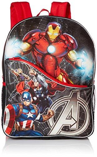 0a121e661f Qoo10 - Marvel Boys Avengers 16 Inch Backpack   Men s Bags   Shoes