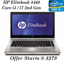 [Refurbished] HP EliteBook 8460p / Intel Core i5 2nd Gen/ 4GB RAM / 320GB HDD / Windows 7 Pro