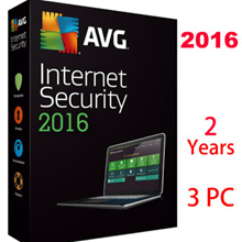 AVG Internet Security 2016 3 Year for 3PC/ Antivirus/internet security/Anti virus/Genuine Anti Virus Software License Key Only