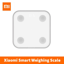 Original Xiaomi Mi Body Fat Scale Smart Bluetooth Scale Weighing Scale Body Fat Analyzer Health Sync