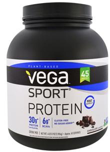 Vega Sport Protein (1.98 kg) X6 Chocolate [WHEY PROTEIN WHEY POWDER PROTEIN SHAKE]